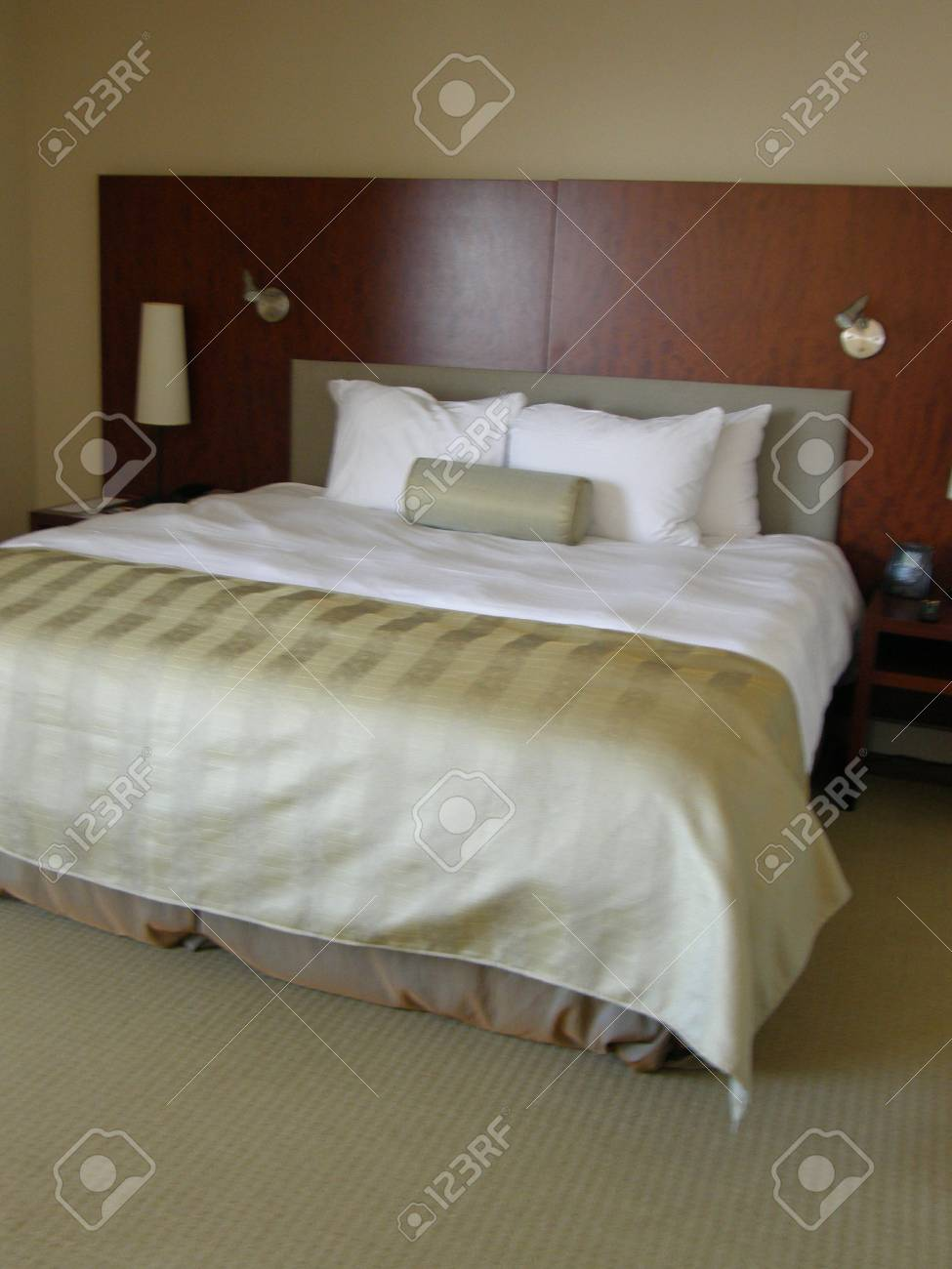 Modern Bedroom Stock Photo - 1646867
