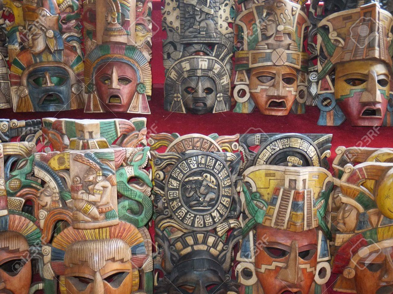 Mexican Handicrafts Stock Photo - 12965241