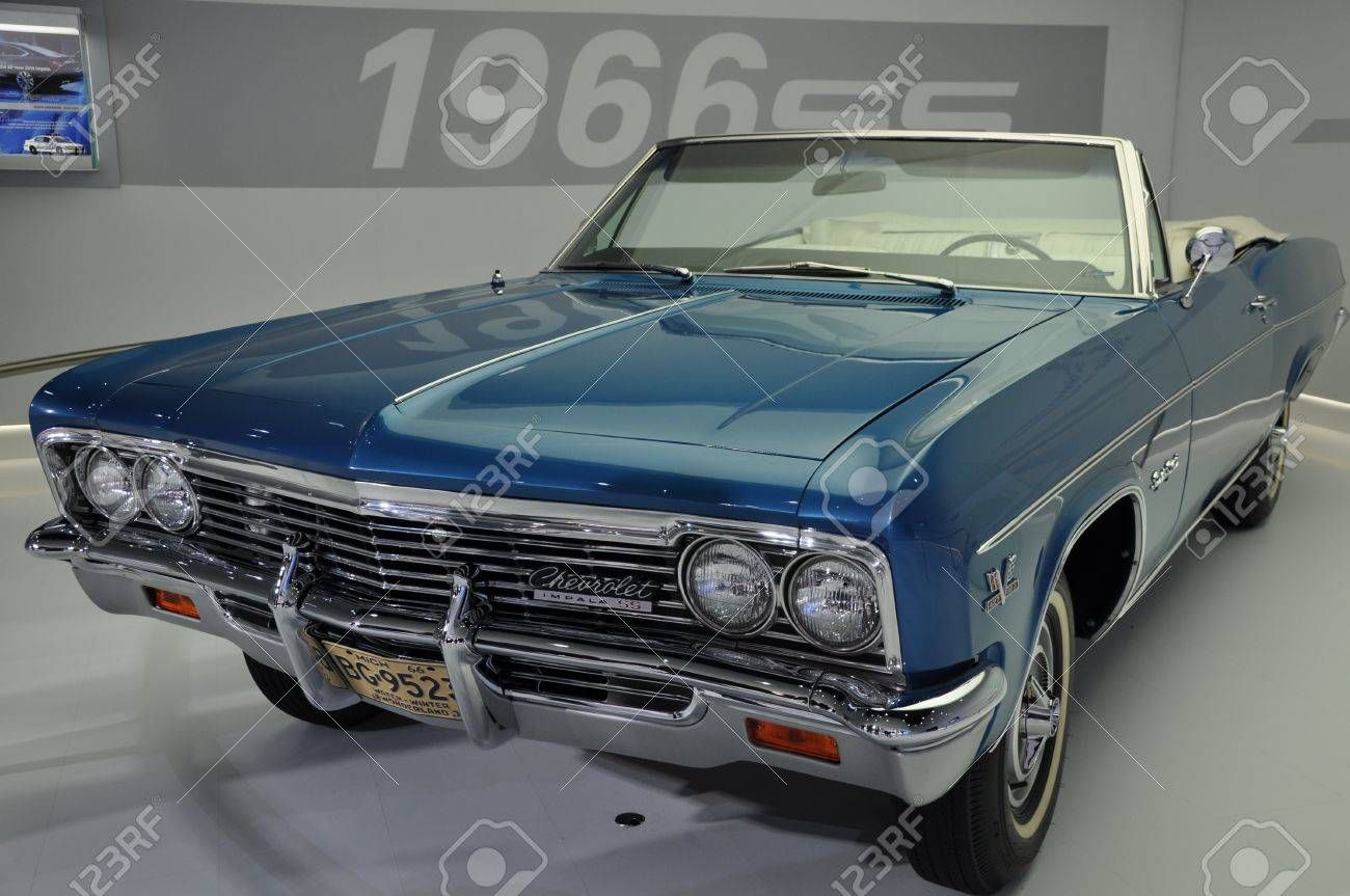 1966 Chevy Impala SS at the 2012 New York Auto Show