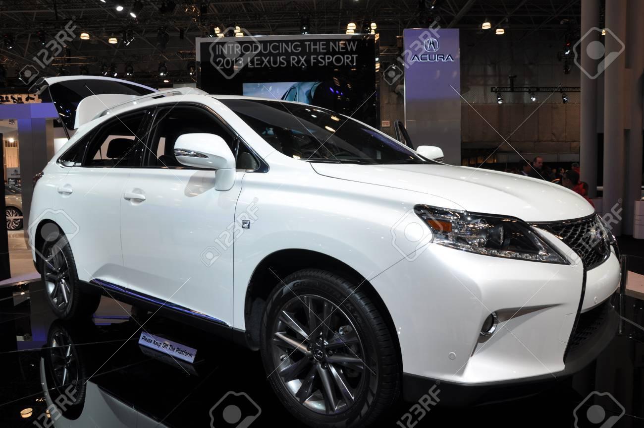 NEW YORK APRIL 11: Lexus RX Sport at the 2012 New York International..