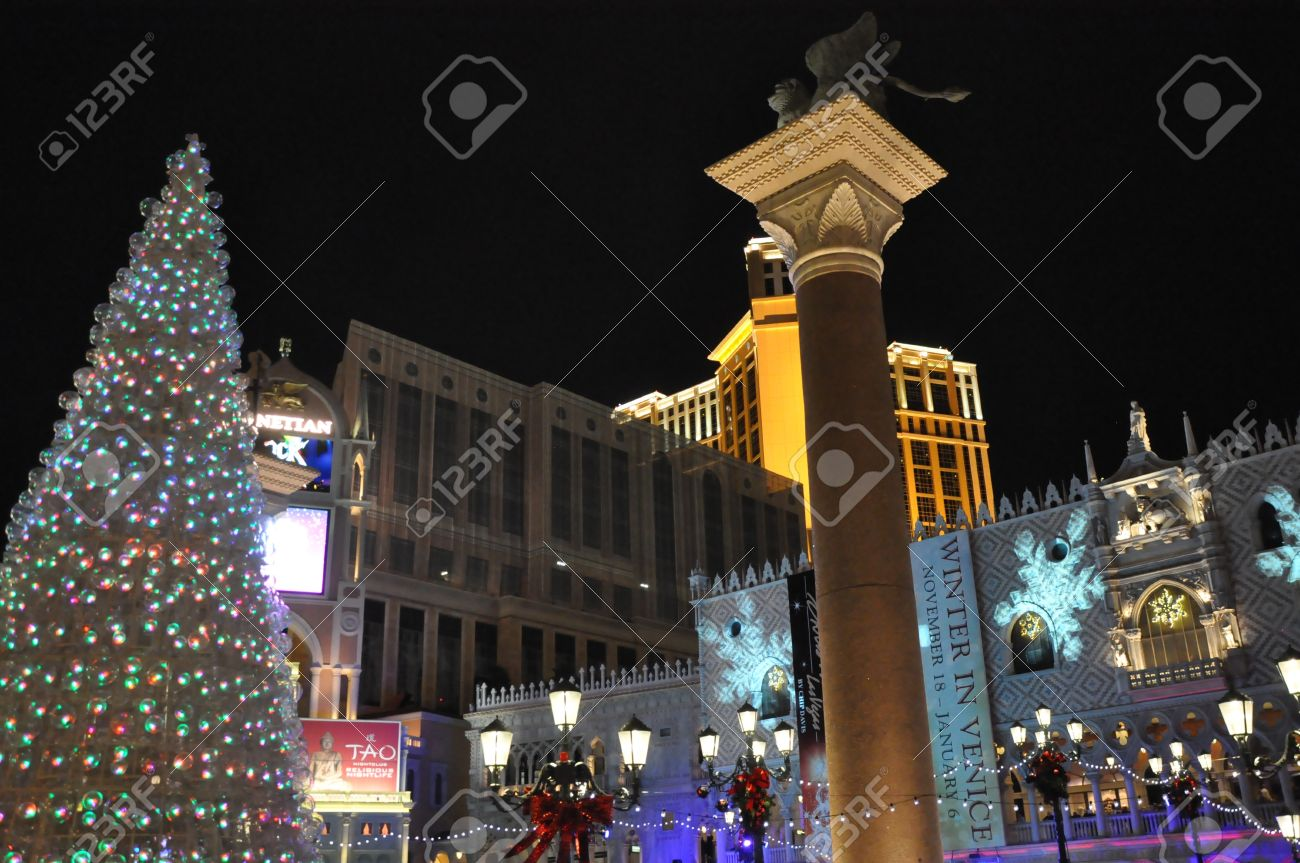 Las Vegas Dec 2 Christmas