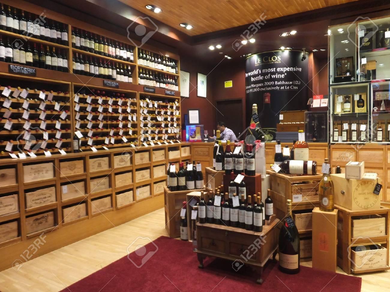 wine store at dubai duty at the international airport in stock photo wine store at dubai duty at the international airport in dubai uae