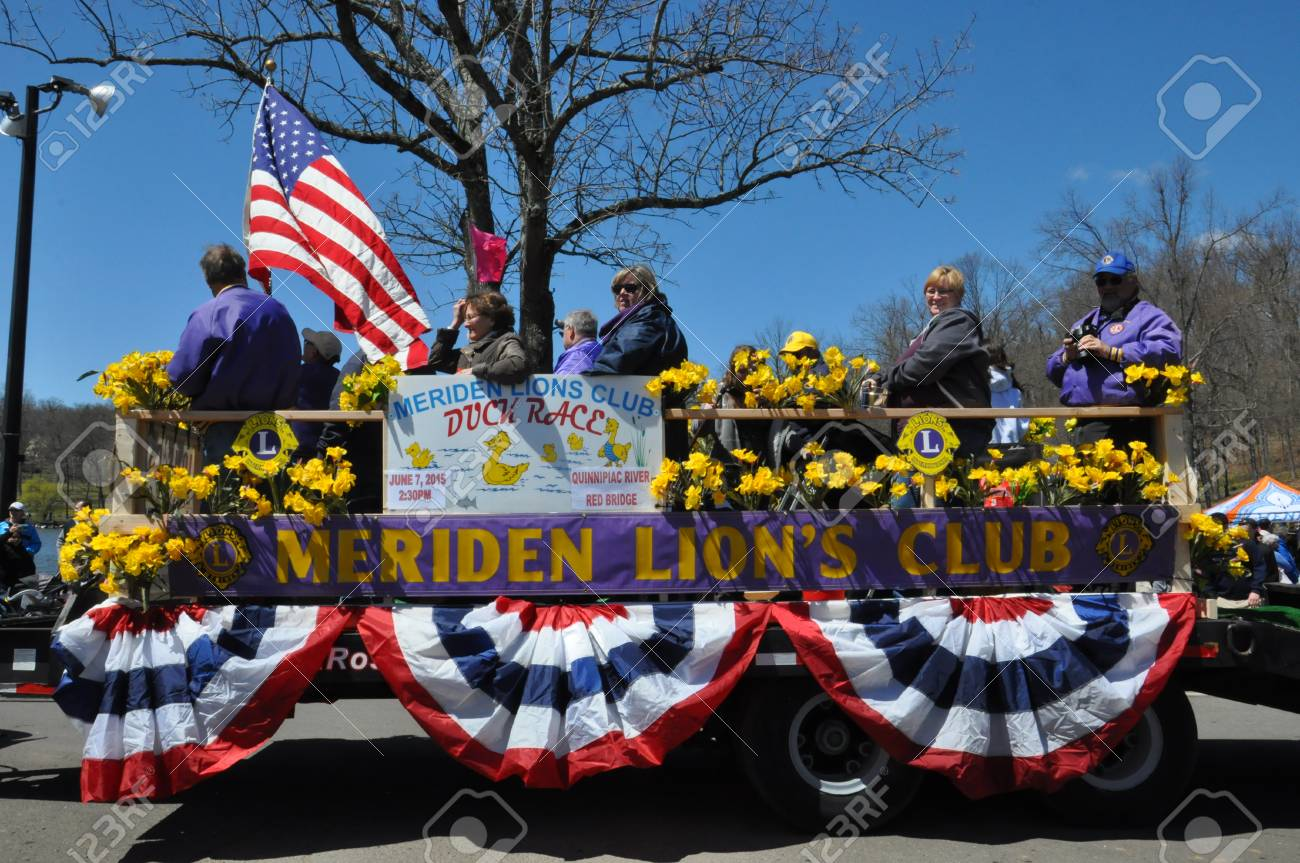 Meriden Ct Apr 25 Parade At The 37th Annual Daffodil