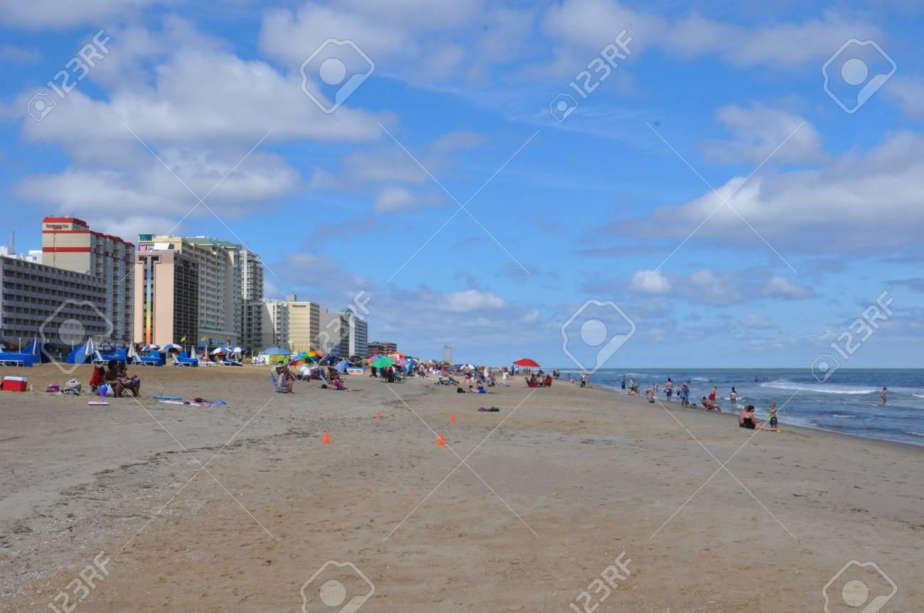 Virginia Beach Boardwalk in Virginia