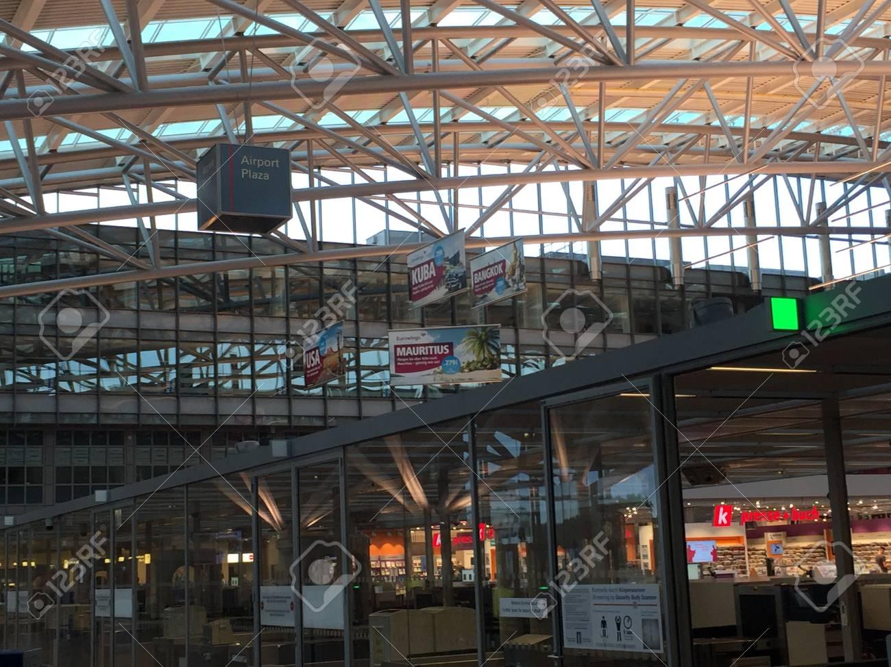 ドイツのハンブルク空港 (空港ハ...