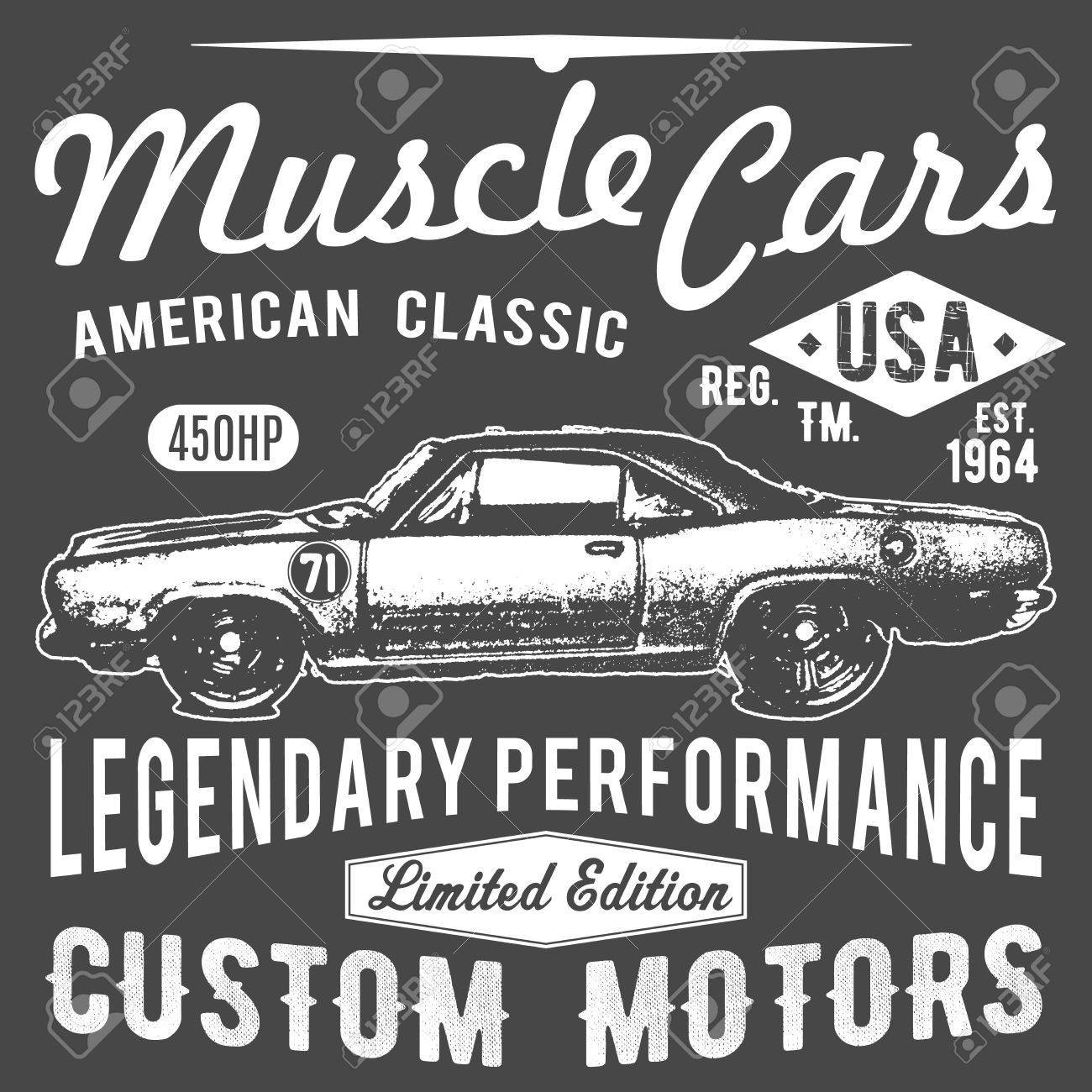 04f1a8007 T-shirt typography design, retro car vector, printing graphics, typographic  vector illustration