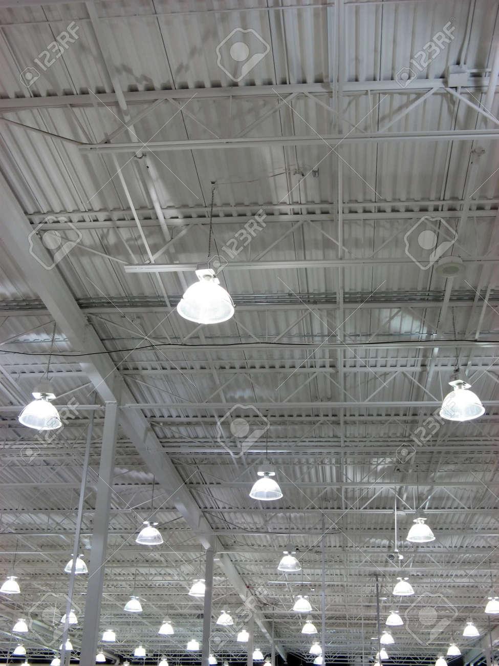 Wan light of a huge store. Stock Photo - 489129