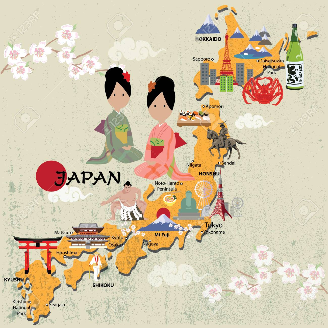Japan map illustrator on internet map, world map, word map, buenos aires map, print map,