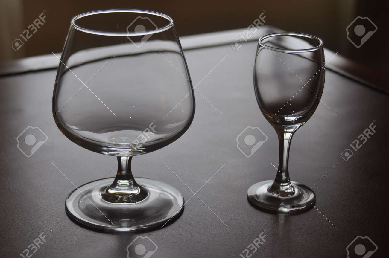 A couple of wine glasses Stock Photo - 7658389