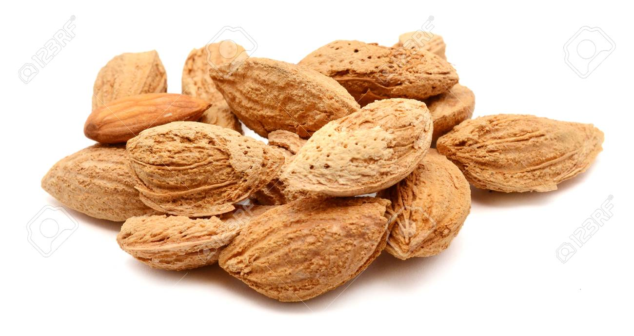 A Bunch Of Roasted Almonds Stock Photo Picture And Royalty Free Almond 98612752