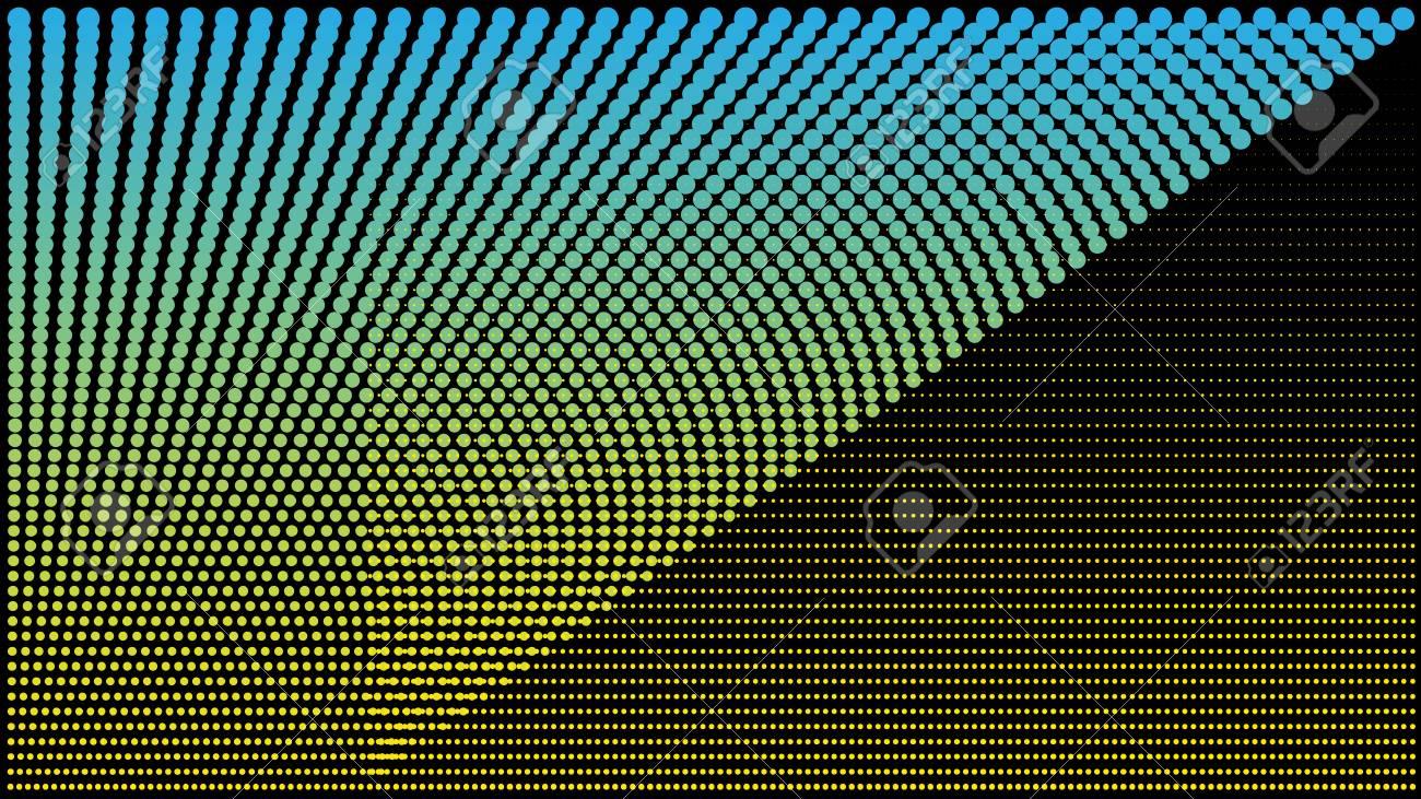 Point Bleu De Television De Fond De Rvb Bleu Et Utilisation De Point De Couleur Noire Pour La Conception De Fond Conception De Vecteur Clip Art Libres De Droits Vecteurs Et