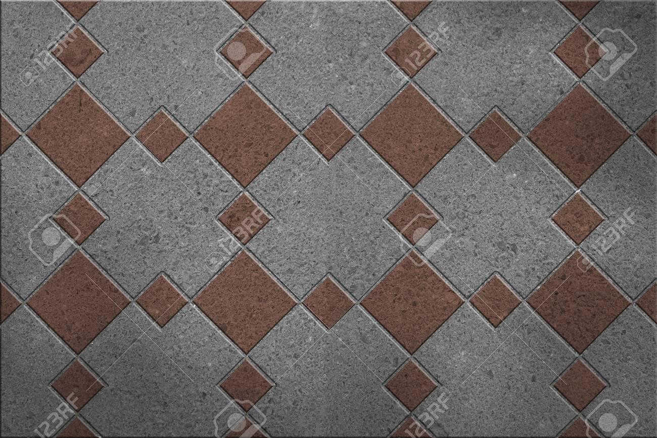 Bodenfliesen Granit Quadratischen Muster Lizenzfreie Fotos Bilder