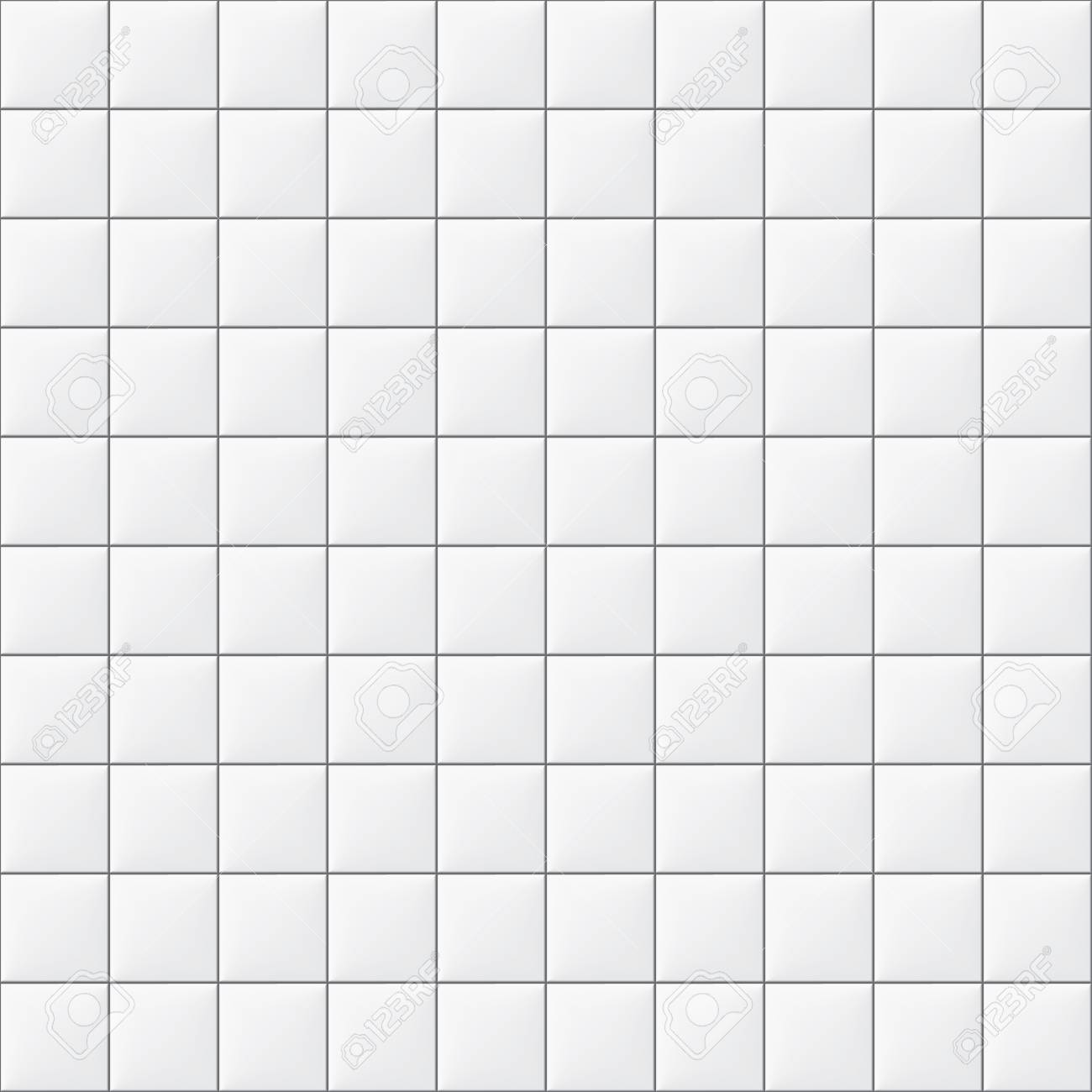 White Tiles Texture Seamless Pattern Royalty Free Cliparts, Vectors ...