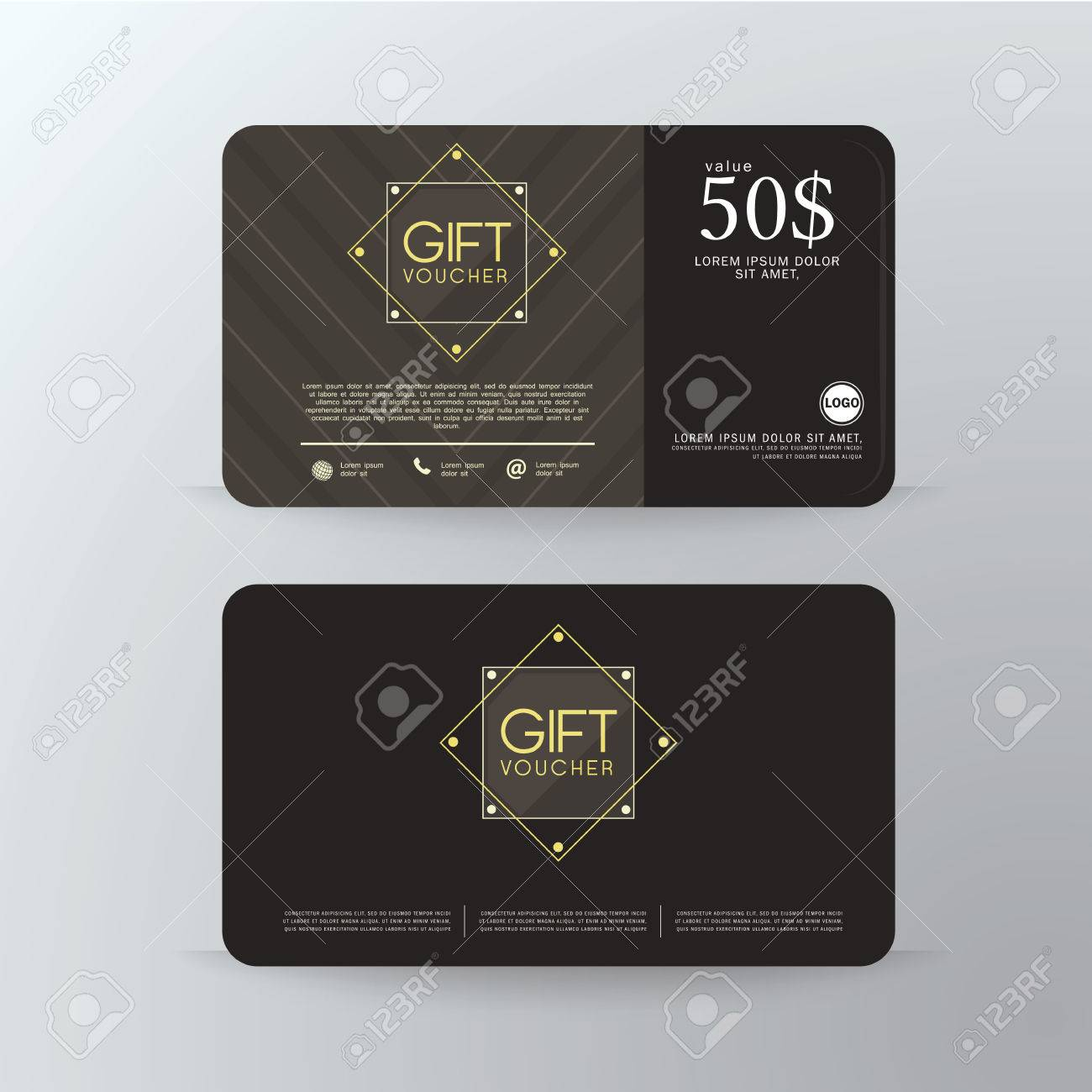 Gift Voucher Premier Cards, Business Cards.Gift Voucher Template ...