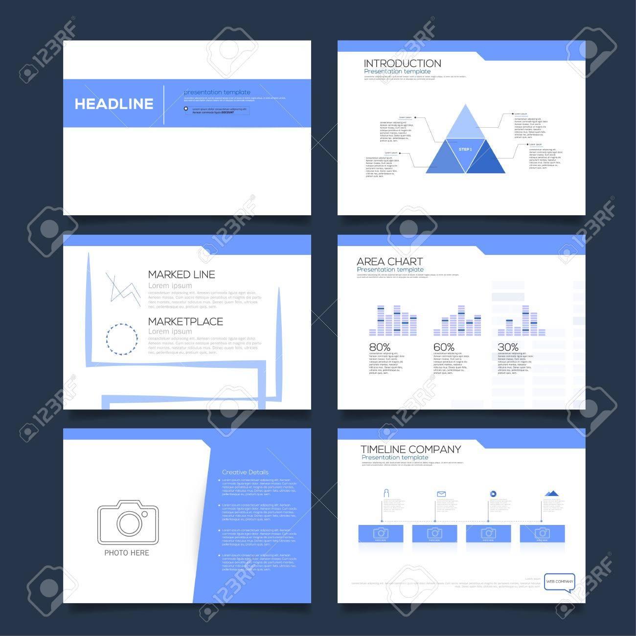 Präsentation Design Vorlage Vektor Design. Lizenzfrei Nutzbare ...