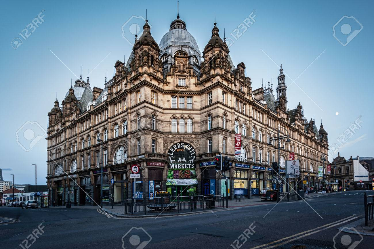 Leeds Kirkgate Market Is A Market In Leeds West Yorkshire England Stock Photo Picture And Royalty Free Image Image 31472312