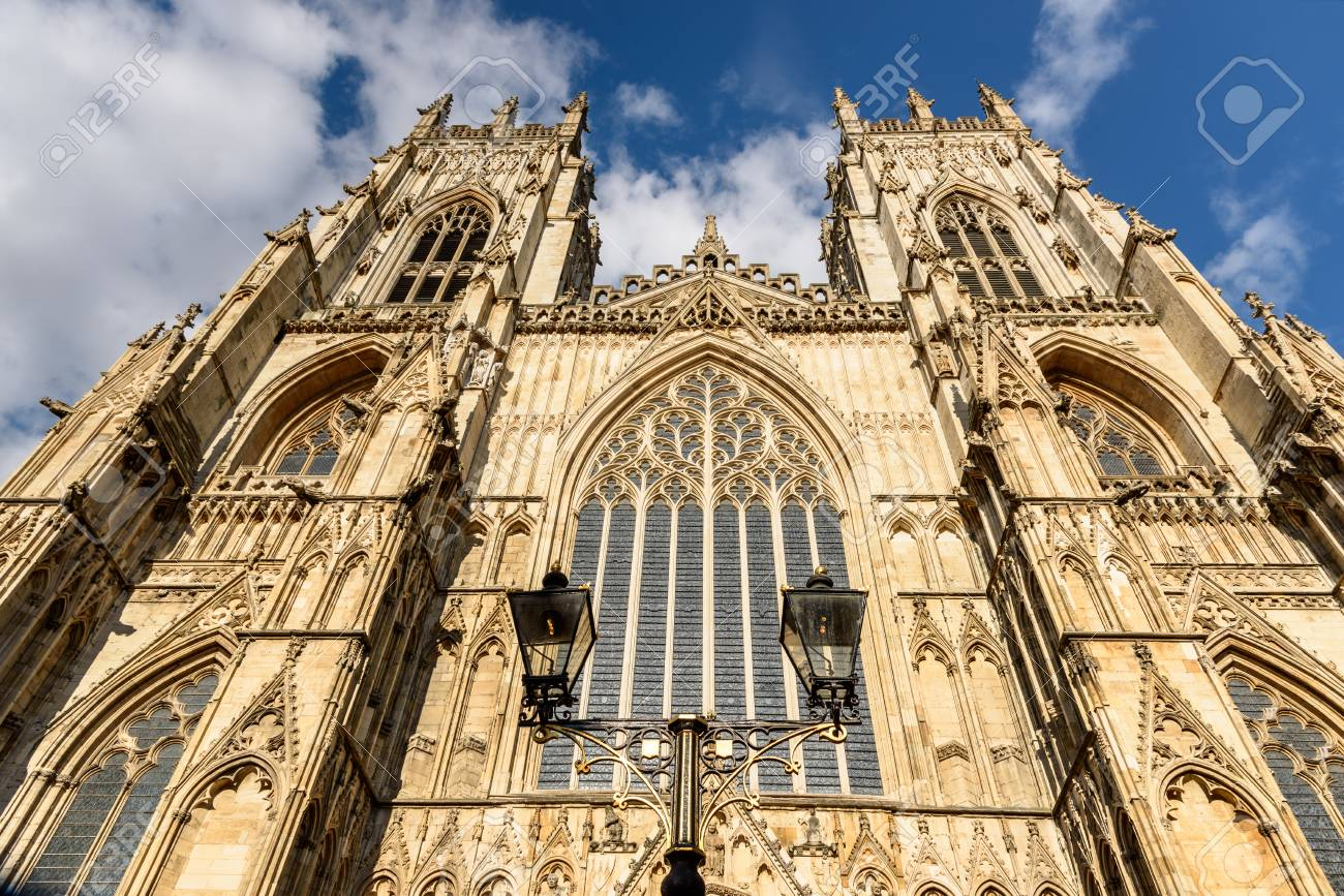 York Minster Is The Second Largest Gothic Cathedral Of Northern