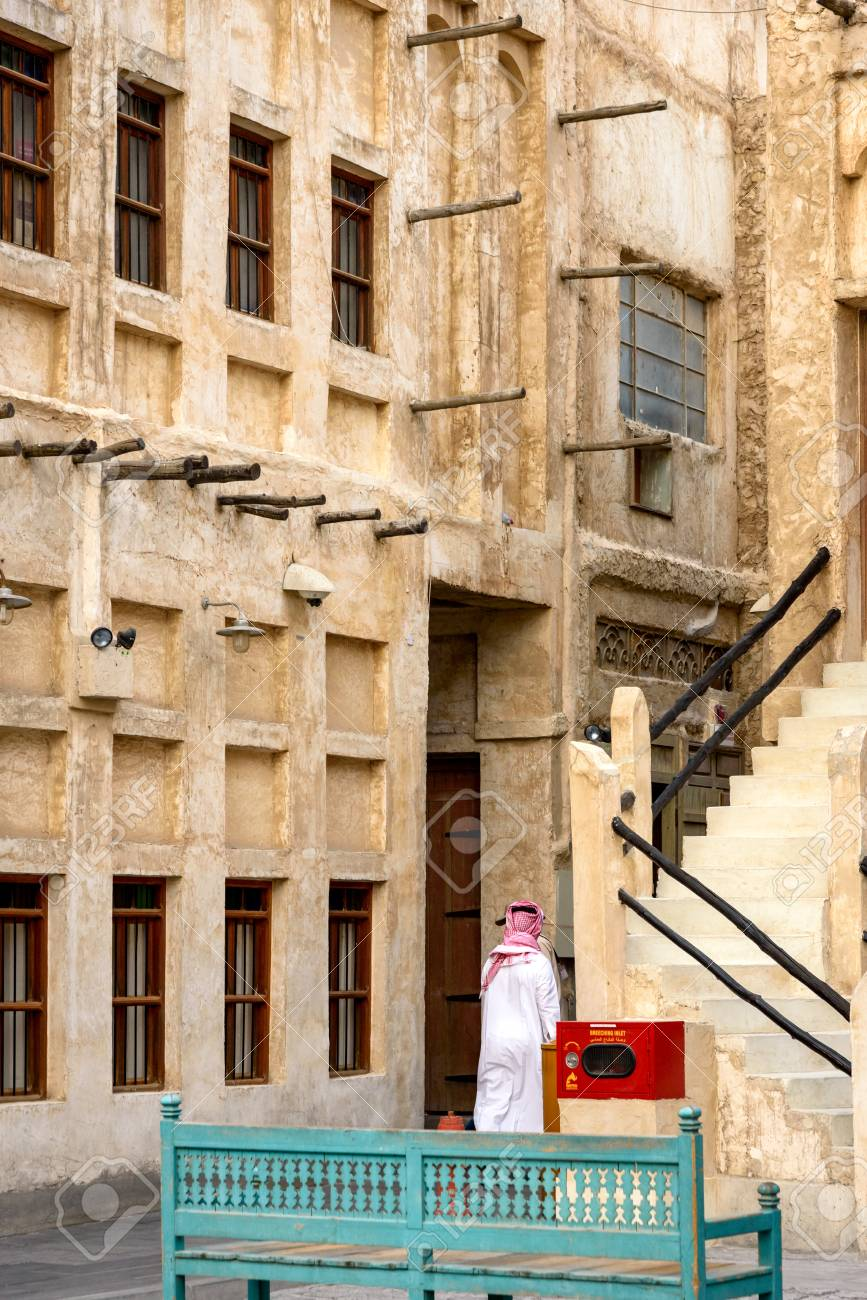Souq Waqif is a souk in Doha, in the state of Qatar  The souk