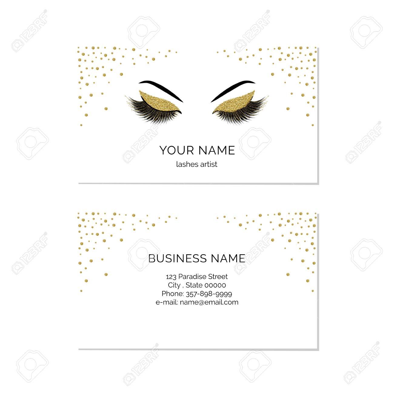 Makeup artist business card vector template royalty free cliparts makeup artist business card vector template stock vector 92543589 cheaphphosting Choice Image
