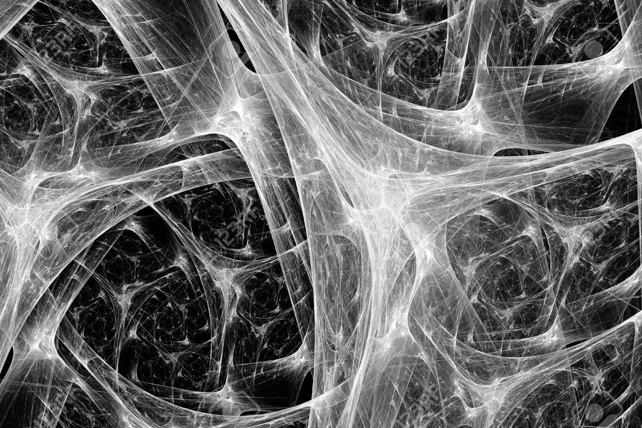 Stock photo synapse system black and white intensity map computer generated abstract background 3d rendering