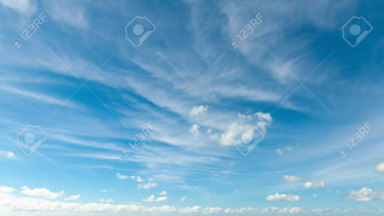 blue sky background with clouds - 126560031