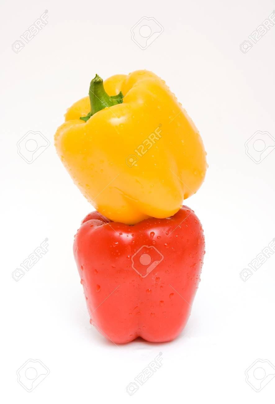 pepper isolated on white Stock Photo - 4435294