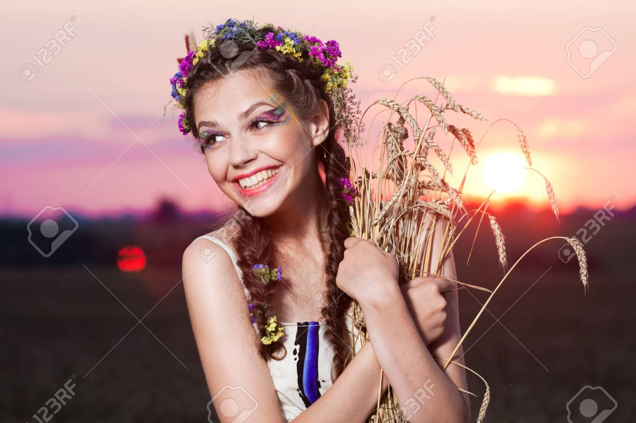 summer portrait Stock Photo - 9487416