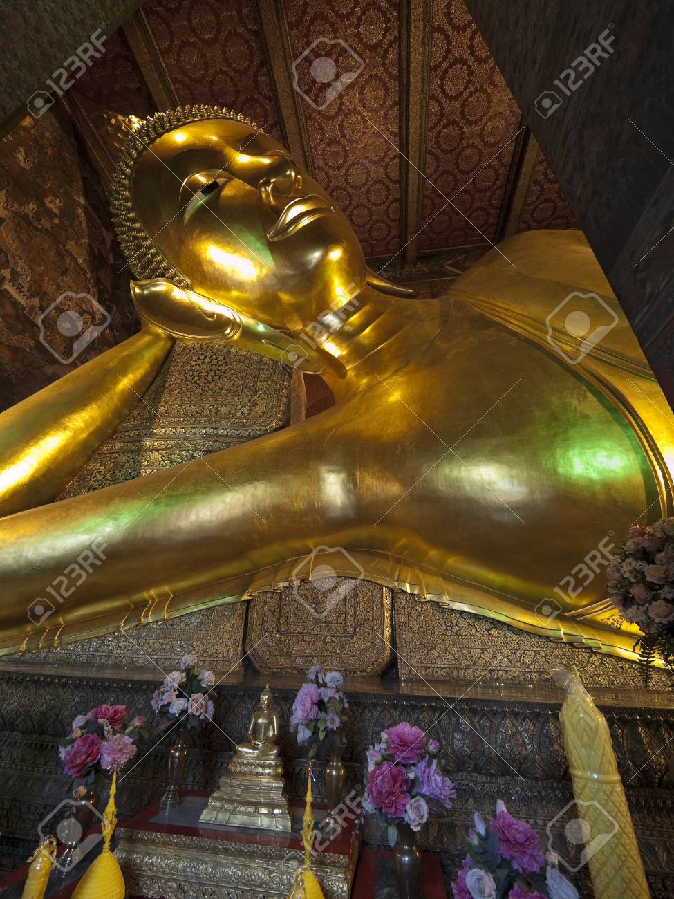 budha in thai temple Stock Photo - 7556045