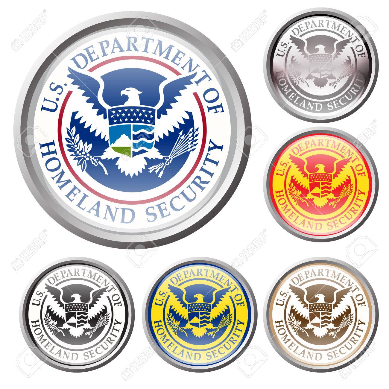 Emblem of united state department of homeland security royalty emblem of united state department of homeland security stock vector 44707261 buycottarizona