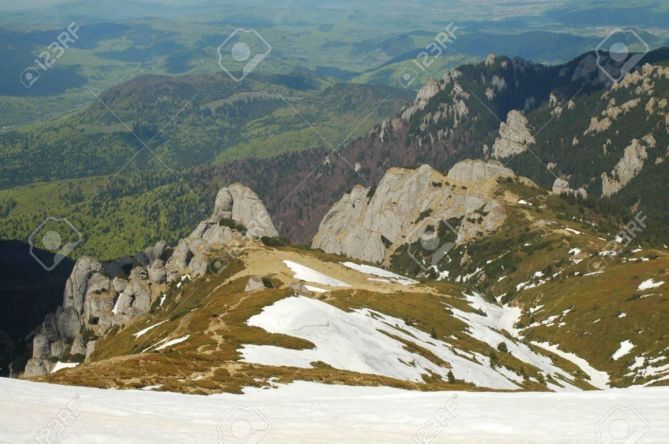 Mountain landscape, Ciucas mountains, Carpathians, Romania Stock Photo - 11763646