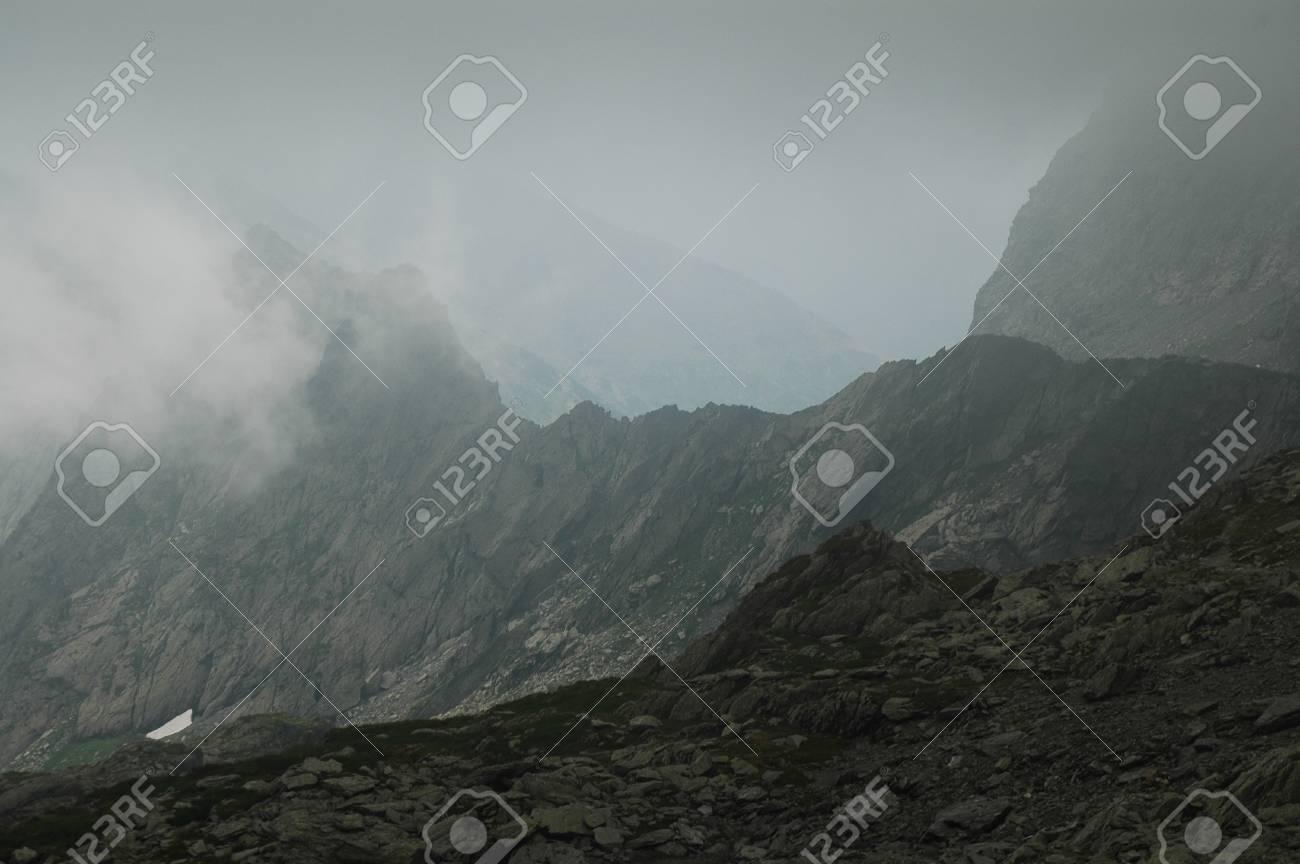 Fagaras mountains, Southern Carpathians, Romania Stock Photo - 12033773