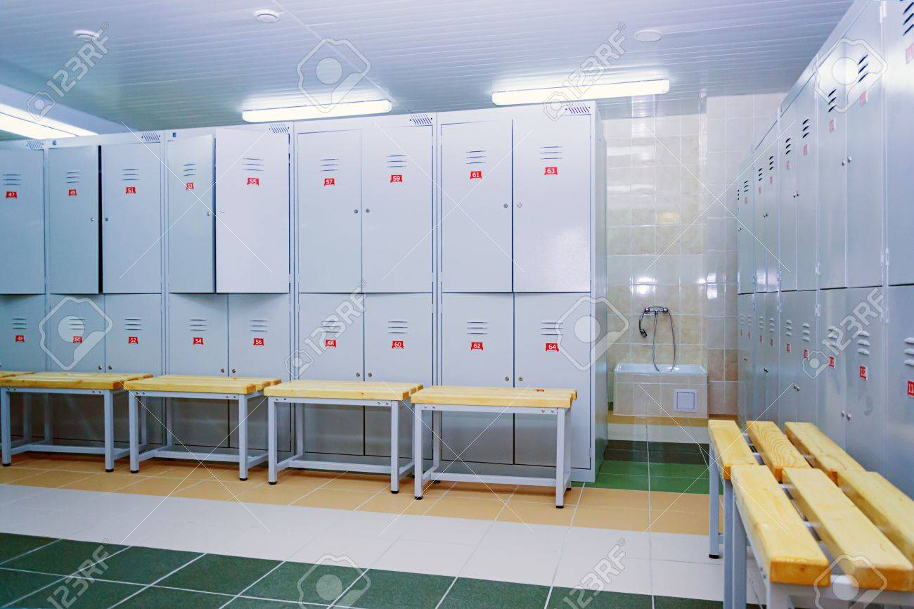 The Locker Room. Closet Stock Photo   66895374