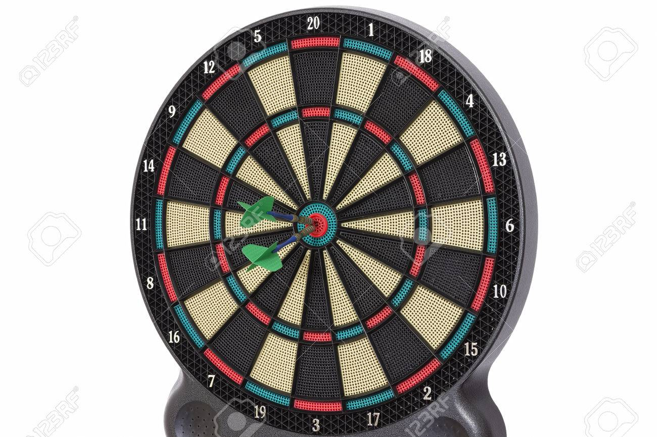 Darts Game 100 Points Stock Photo Picture And Royalty Free Image