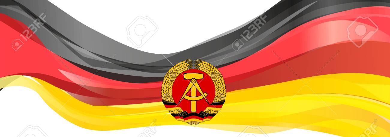 Flag of East Germany, German Democratic Republic
