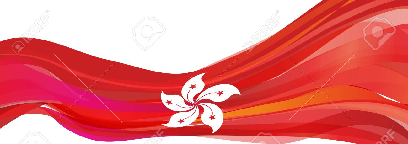 Flag of hong kong red flag with a white flower of the chinese flag of hong kong red flag with a white flower of the chinese city of mightylinksfo