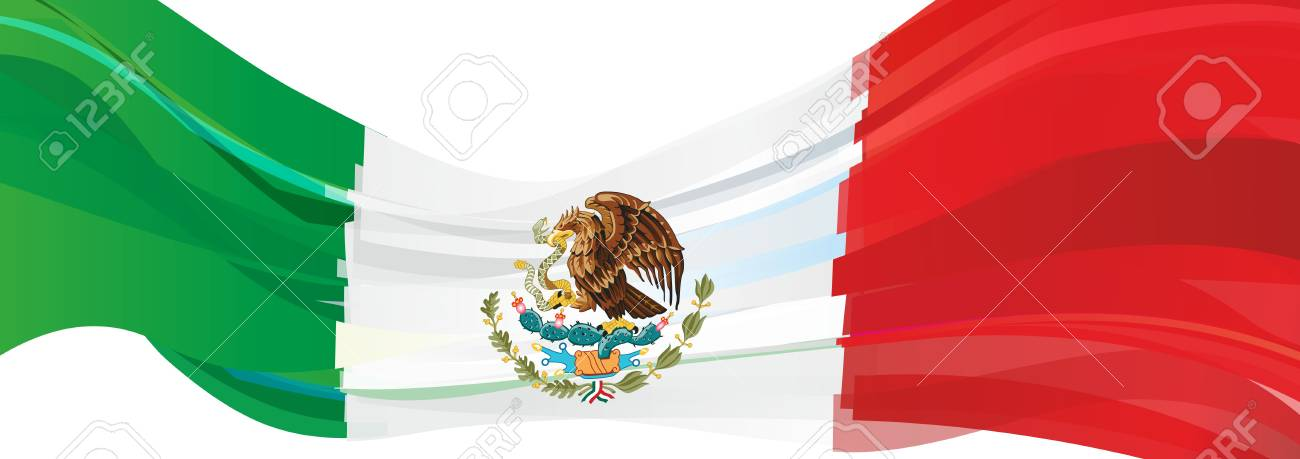 Flag Of Mexico Green White Red Flag Of The United States