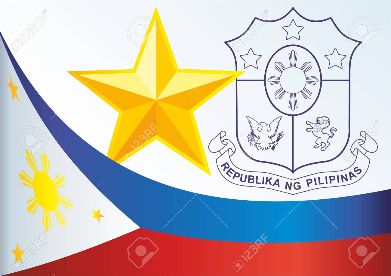 Flag of the philippines template for the award an official flag of the philippines template for the award an official document with the flag buycottarizona Images