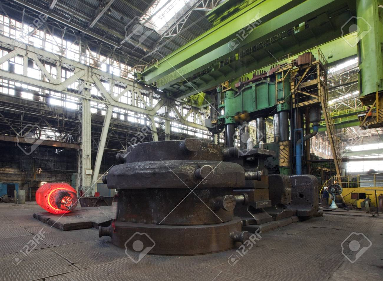 plant for the production of parts for the huge super cars Stock Photo - 26288221