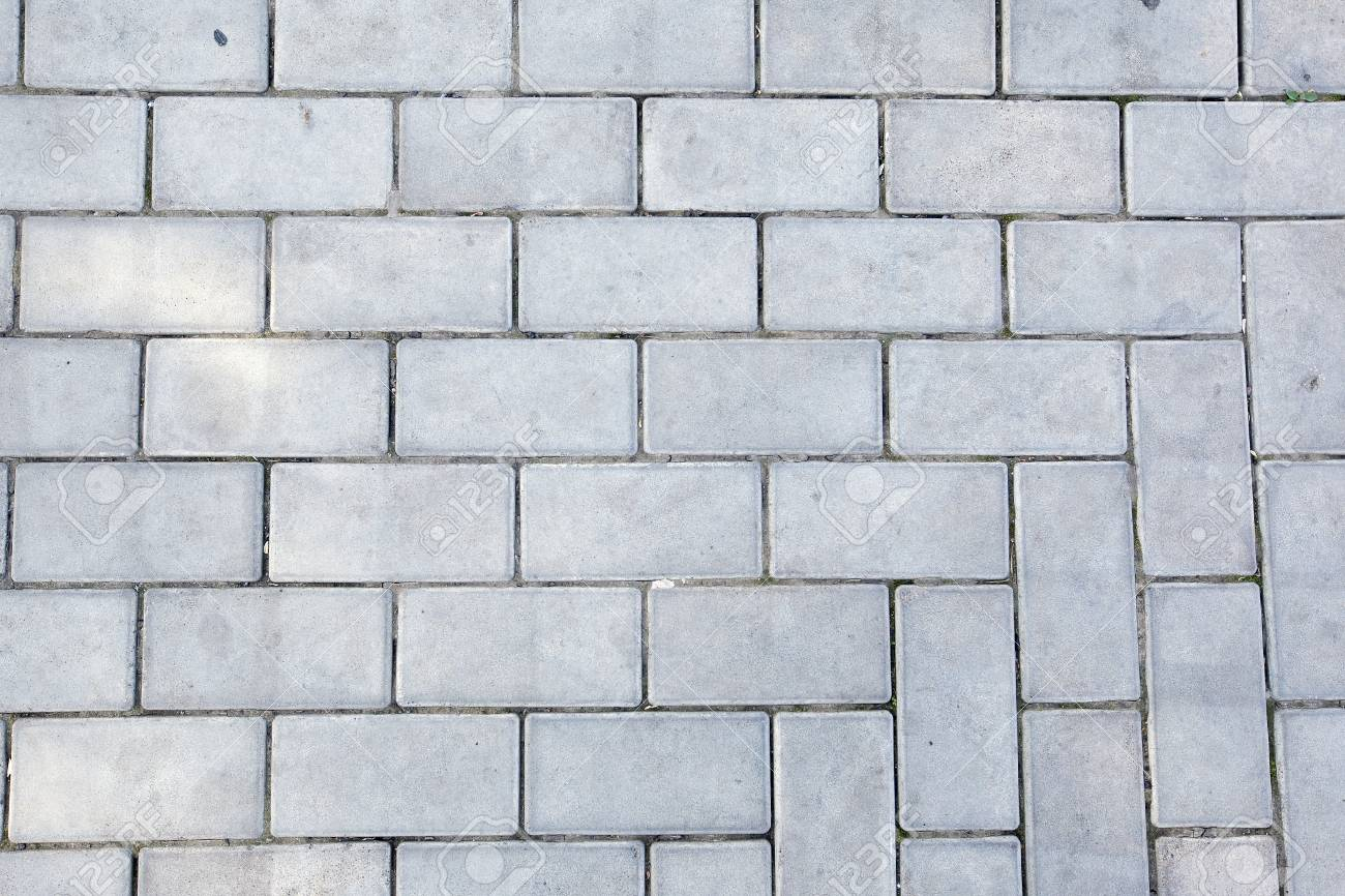 isolated macro texture of the pavement and pavers in summer stock