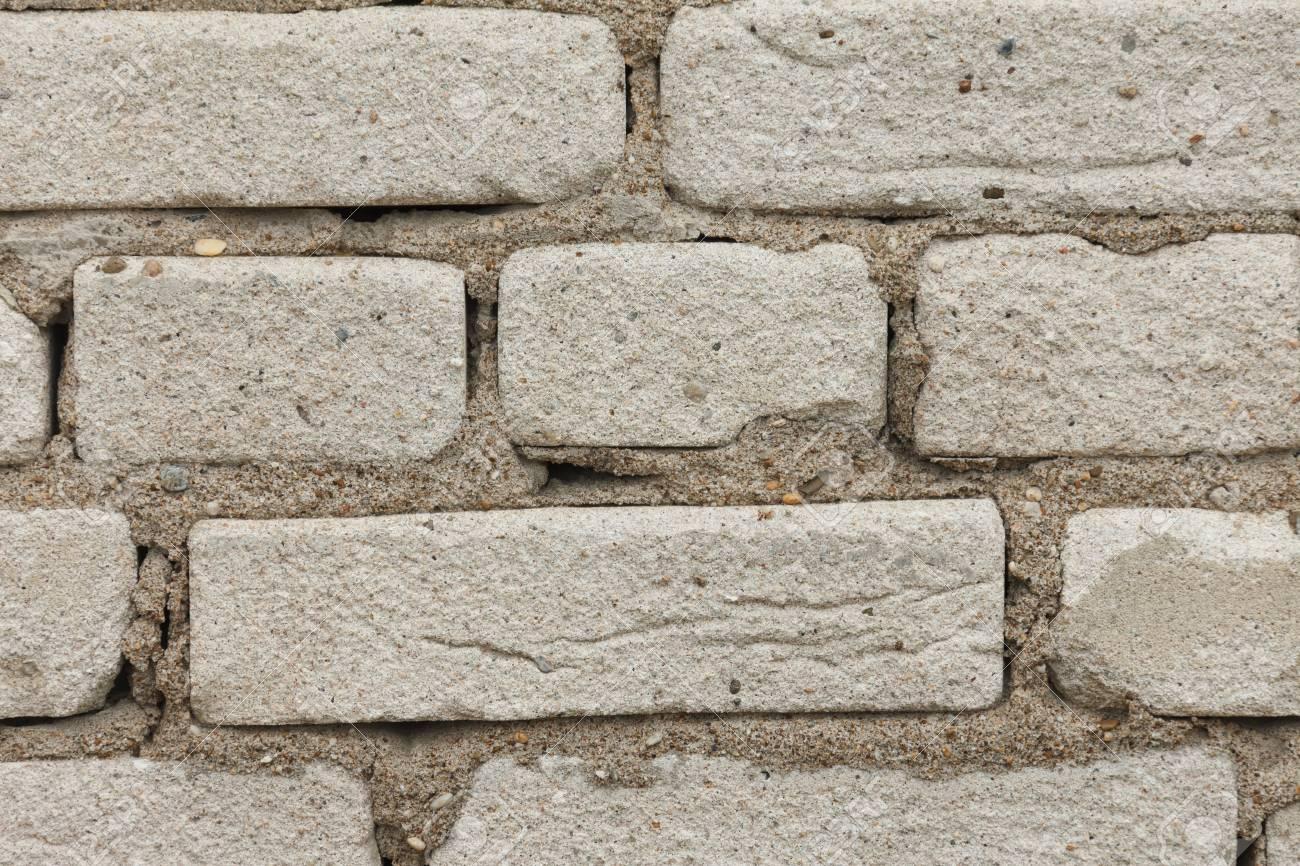 Résumé Tanné Texture Teinté Vieux Gris Clair En Stuc Et Vieilli Fond Peinture Mur De Briques Blanches Dans La Chambre Rurale