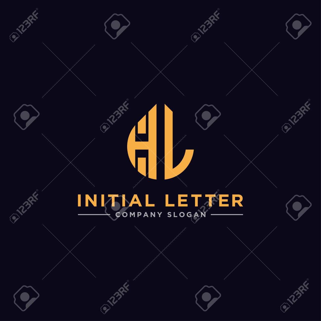 Hl Letters Initial Icons Monogram Vector Inspiration Logo Royalty Free Cliparts Vectors And Stock Illustration Image 152428921