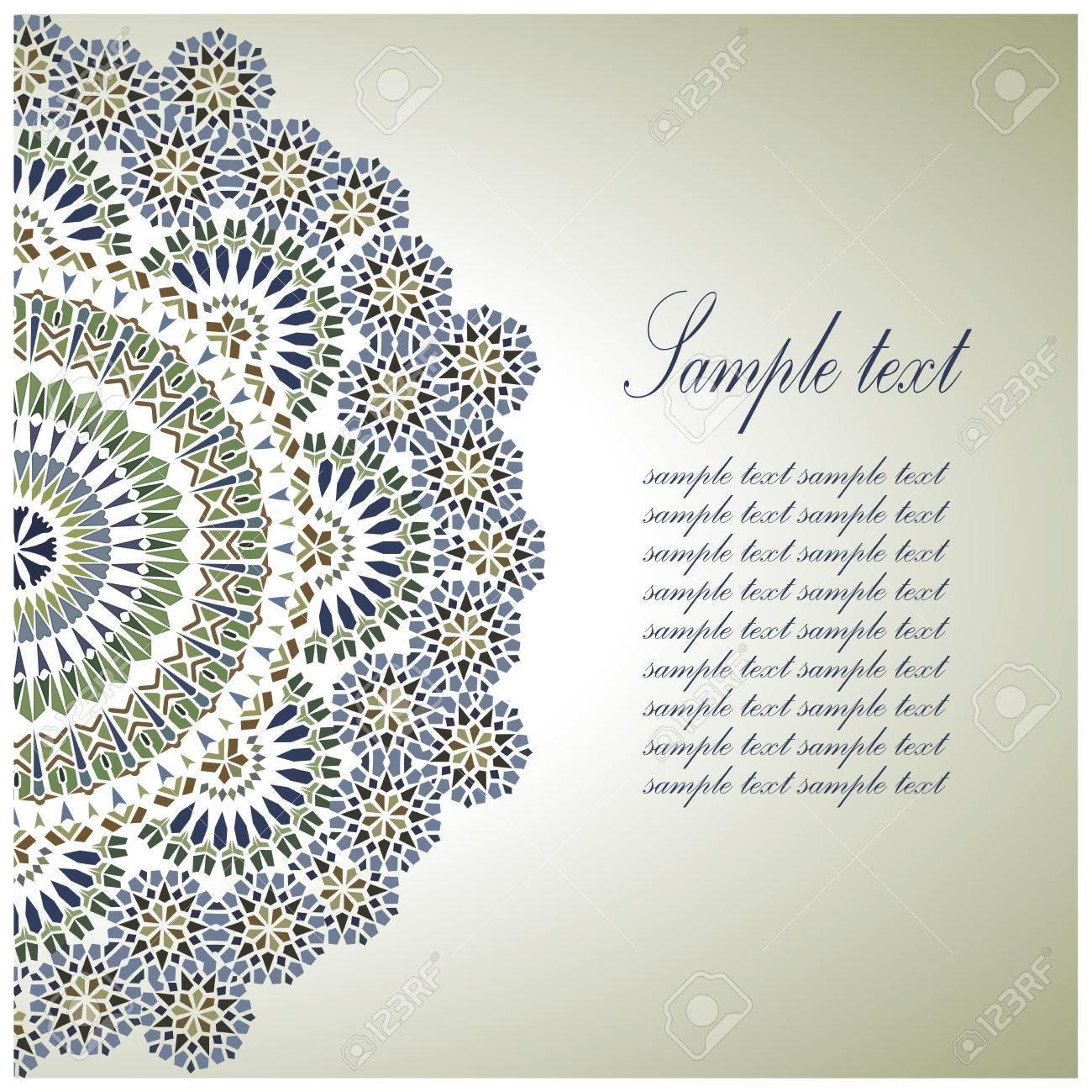 Vintage Background Traditional Ottoman  motifs. Vector  illustration Stock Vector - 24221203