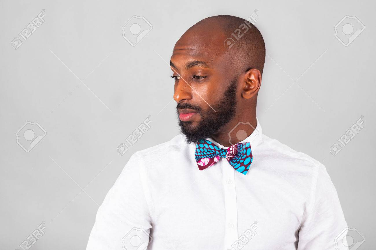 African American young man wearing traditional clothes - 53975632