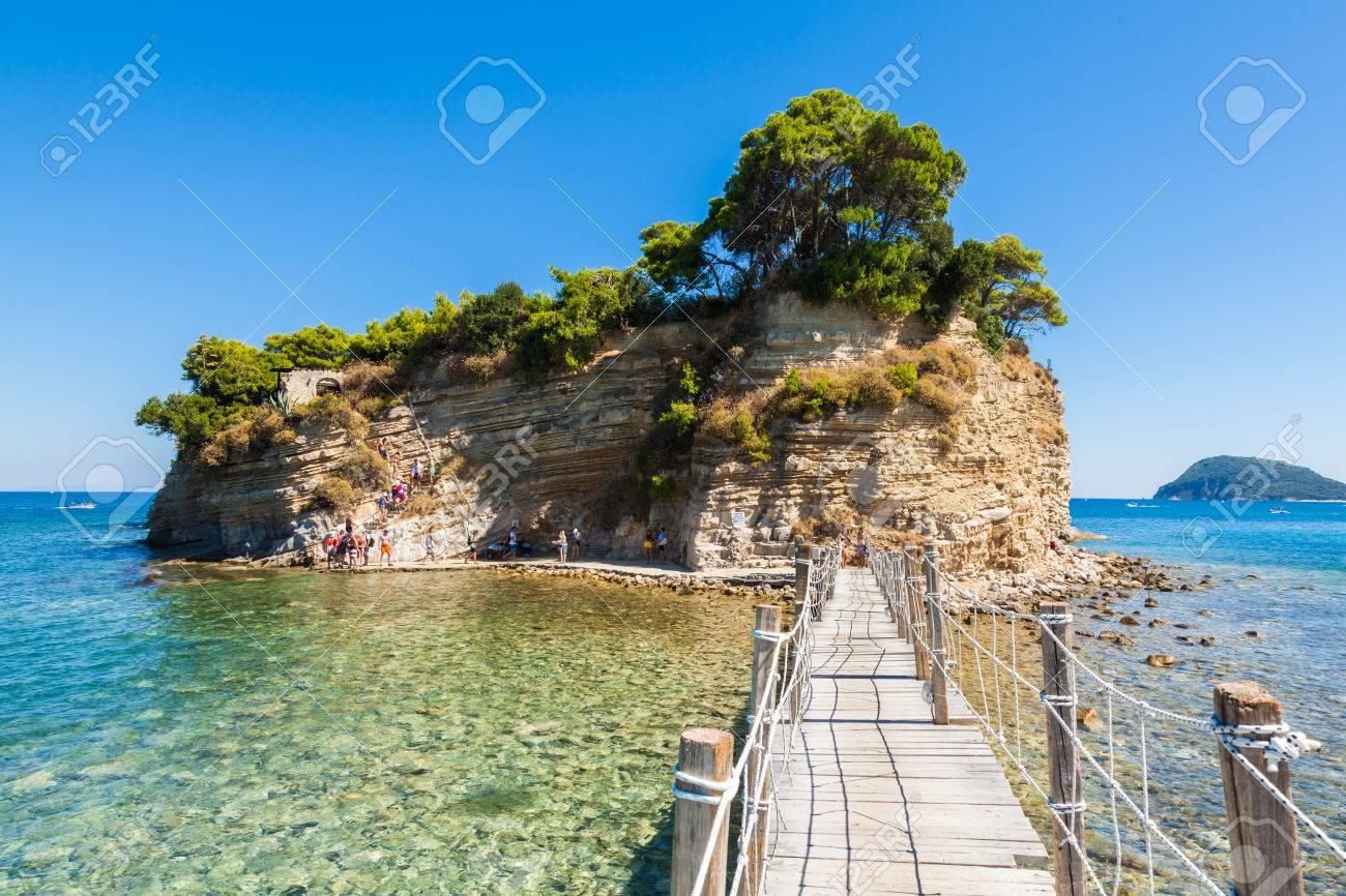 Cameo Island in Zakynthos (Zante) island, in Greece - 85235522