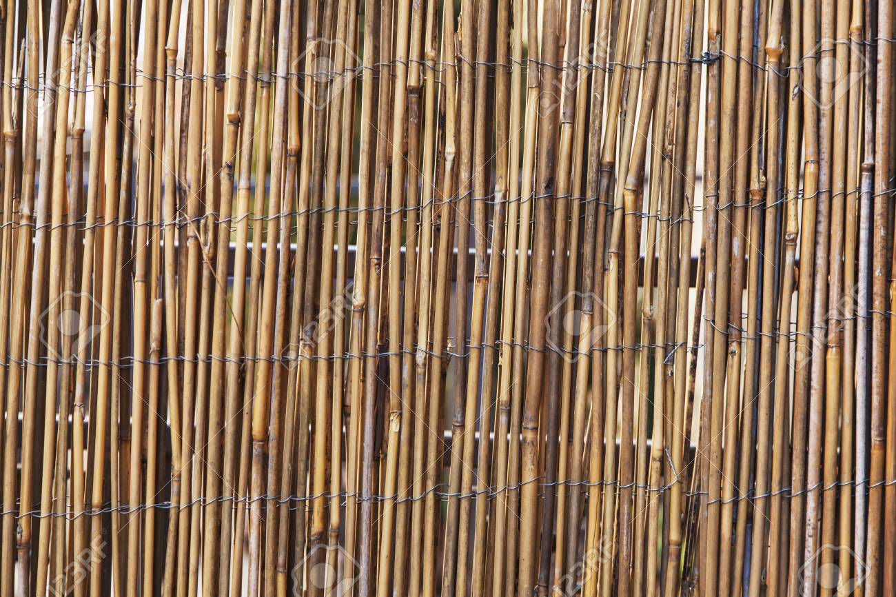 Bamboo fence as a background Stock Photo - 17208190