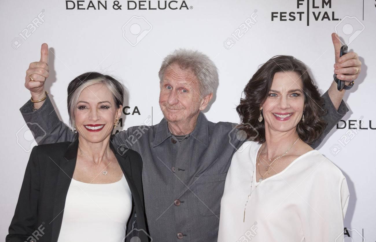 New York, NY, USA - April 18, 2016: Actors Nana Visitor, Rene