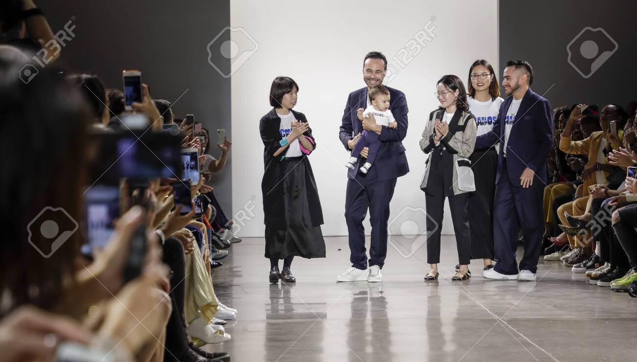 New York Ny Usa September 6 2019 Fashion Designer Carlos Stock Photo Picture And Royalty Free Image Image 130524635