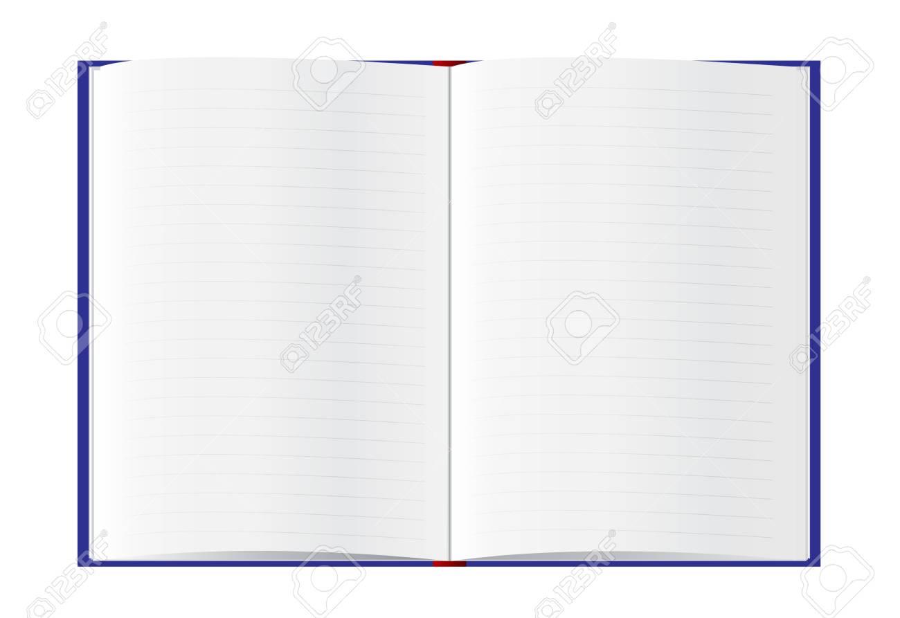 Le Livre S Ouvre Pour Vous L Ecrire Il S Agit D Une Illustration