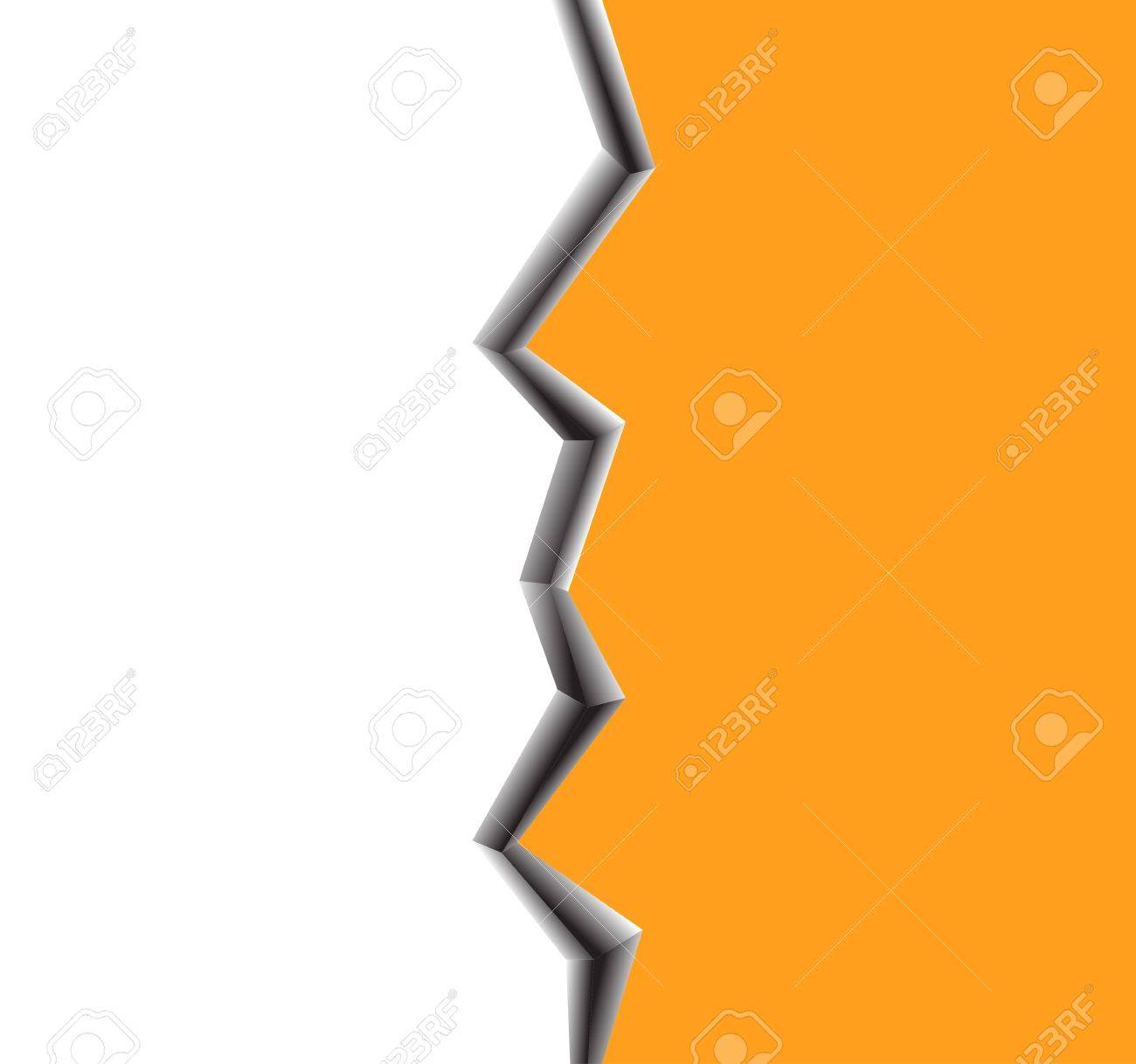 Illustration of a large crack on surface Stock Vector - 14753596