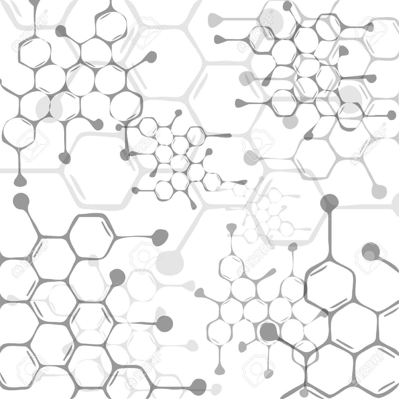 Abstract molecules medical background - 22620480